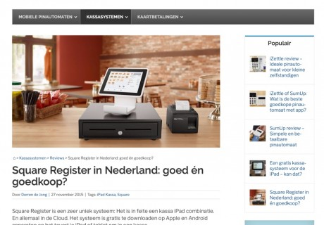 Mobile Transaction Netherlands